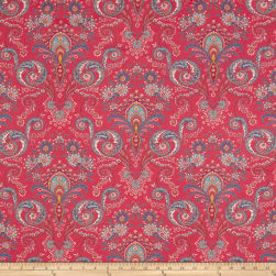 Stof France Valdrome Kalian Framboise 003 Fabric