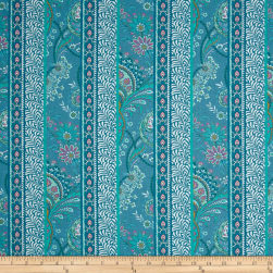Stof France Valdrome Samode Bleu Fabric