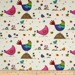 Stof France Infants Zazou Multicolore Fabric