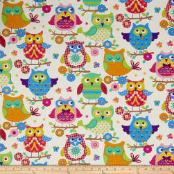 STOF France Infants Hou Hou Multicolore Fabric
