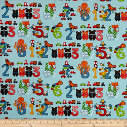 STOF France Infants Octopus Multicolore Fabric
