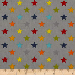 Stof France Infants Seong Gris/Multicolore Fabric