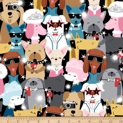 Puparazzi Pups Headshots Multi Fabric