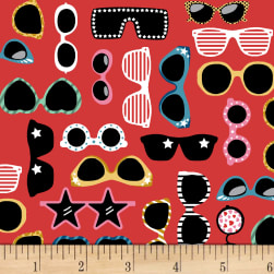 Puparazzi Pups Shades Red Fabric