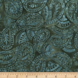 Timeless Treasures Tonga Batik Spa Day Folksy Paisley