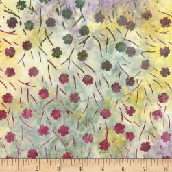 Timeless Treasures Tonga Batik Orchid Cotton Field Sage