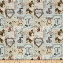 Stof France Le Quilt Belle Epoque Ivory Fabric