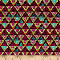 STOF France Le Quilt Equateur Red/Green Fabric