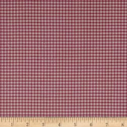 STOF France Le Quilt Printemps Plaid Pink Fabric