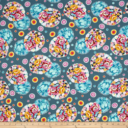 Amy Butler Night Music Cloud Blossom Heather Fabric