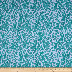 Amy Butler Night Music Stitched in Flight Teal