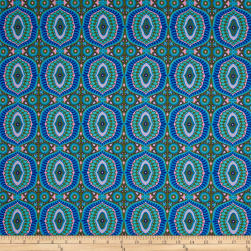 Amy Butler Night Music Temple Tiles Celad Fabric