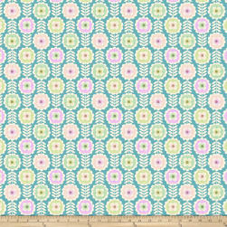 Erin McMorris Echo Springwater Blush Fabric