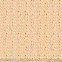 Erin McMorris Echo Glow Dots Peach Fabric