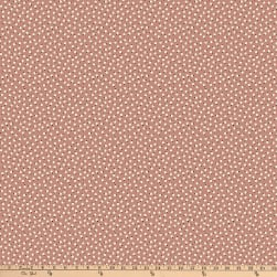 Denyse Schmidt Ludlow Belly Button Dot Brown Fabric