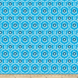 Jennifer Paganelli Sugar Beach Brandi Blue Fabric