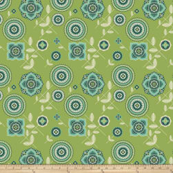 Joel Dewberry Avalon Delphina Greenery Fabric