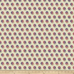 Joel Dewberry Avalon Poka Stripe Berry Fabric