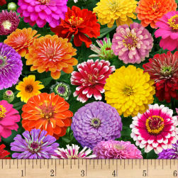 Zinnia Main Multi Fabric