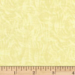 Impressions Moire II Light Yellow Fabric