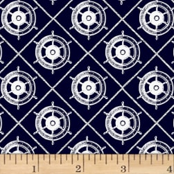 Quarter Deck Dark Navy Fabric