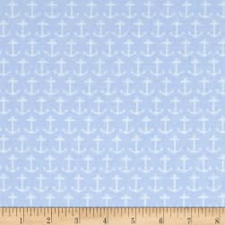 Quarter Deck Light Blue Fabric