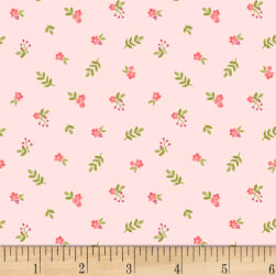 Fresh Picked Small Flowers Light Pink Fabric