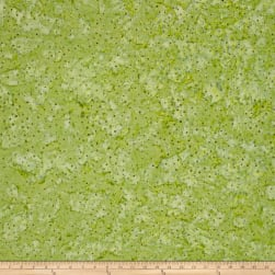 Fresh Batiks Botanica 4 Light Olive Fabric