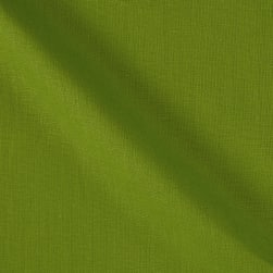 100% European Medium Weight Linen Green Fabric