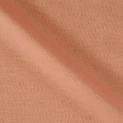 100% European Medium Weight Linen Peach Fabric