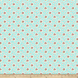 Kiss Goodbye Petite Bouquets Pool Fabric