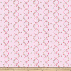 Kiss Goodbye Ribbon Bloom Cotton Fabric