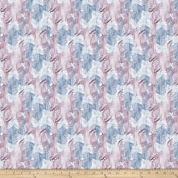 FreeSpirit Bloom Beautiful Soft Feather Wisteria Fabric