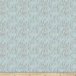 FreeSpirit Bloom Beautiful Willow Turquoise Fabric