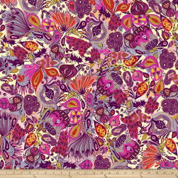 Garden Dreams Secret Garden Pink Fabric