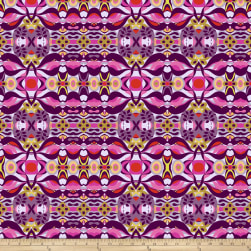 Garden Dreams Wave Purple Fabric