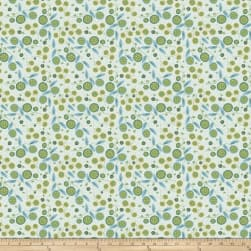 Garden Dreams Very Berry Blue Fabric