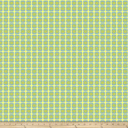 Garden Dreams Dots Green Fabric