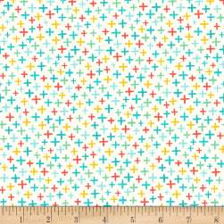 Over and Under Plus Light Turquoise Fabric