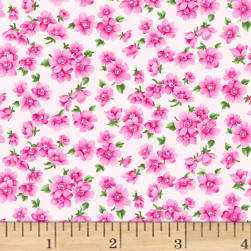 Chelsea Small Floral Light Pink Fabric