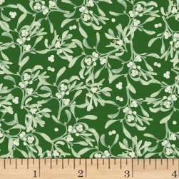 Holidays Remembered Vines Forest Fabric