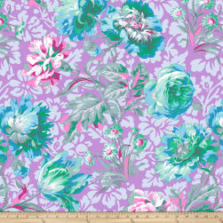 Kaffe Fassett Collective Baroque Floral Lavender Fabric