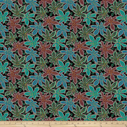 Kaffe Fassett Collective Lacy Leaf Green Fabric