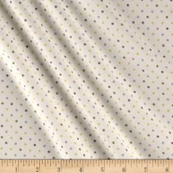 You're All My Favorites Dots Light Cream Fabric