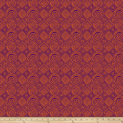 Kaffee Fassett Collective Vibrations Purple Fabric