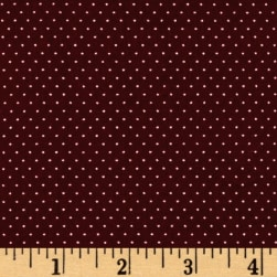 Telio Colorado Poly Faille Print Dot Bordeaux Ecru