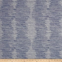 Sustain Performance Jacquard Turner Cobalt Fabric