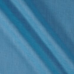 3.5 oz 100% European Linen Pacific Blue Fabric