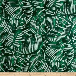Golding by P/Kaufmann Gallant Leaf Emerald Fabric