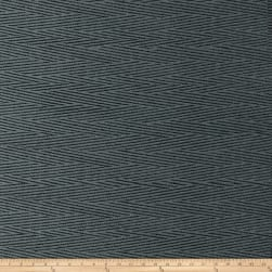 Golding by P/Kaufmann Inertia Chenille Jacquard Slate Fabric